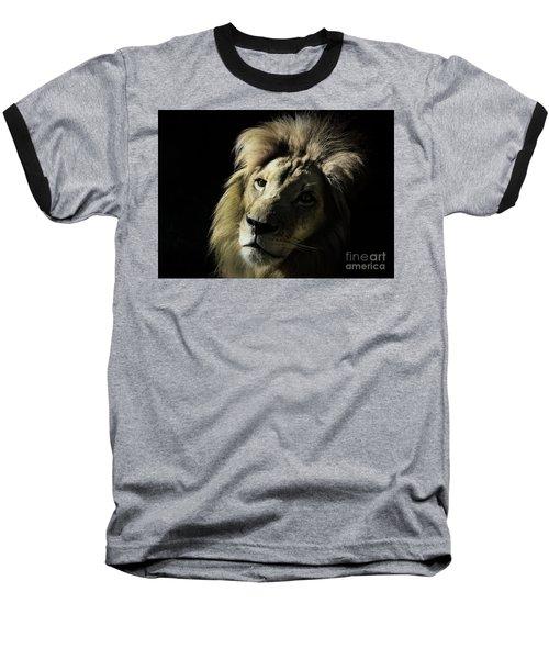 Shadows Baseball T-Shirt by Lisa L Silva