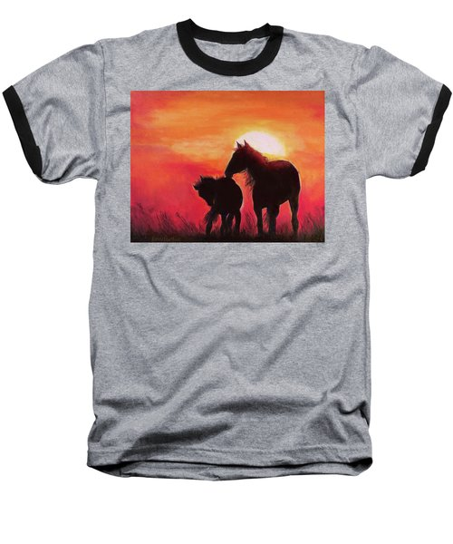 Shadows Of The Sun Baseball T-Shirt
