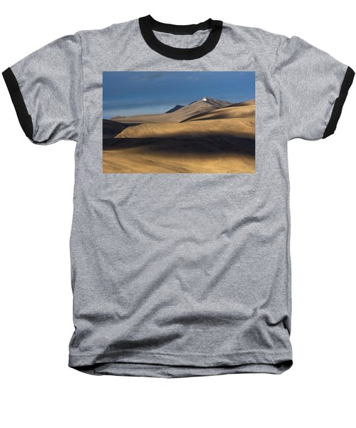 Shadows On Hills Baseball T-Shirt