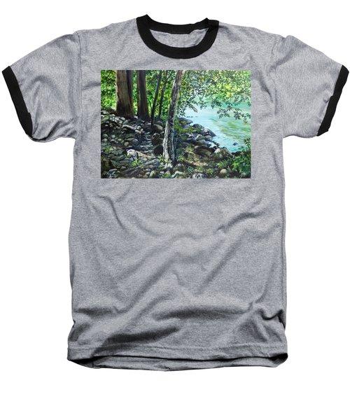 Shadows On The Bank Baseball T-Shirt