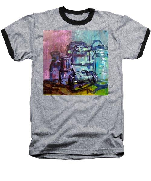 Shadows Through Glass Baseball T-Shirt