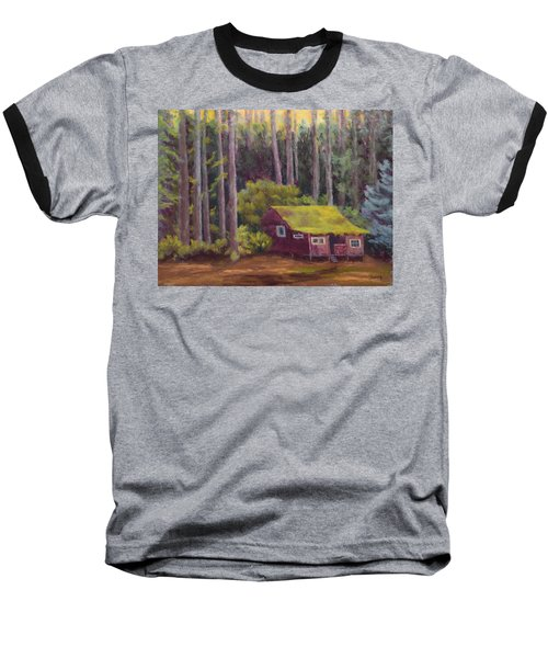 Baseball T-Shirt featuring the painting Shady Grove by Nancy Jolley