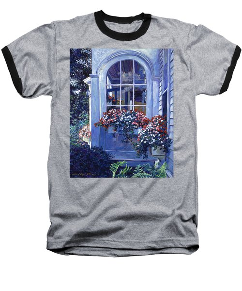 Shady Window Boxes Baseball T-Shirt
