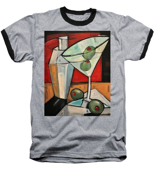 Shaken Not Stirred Baseball T-Shirt