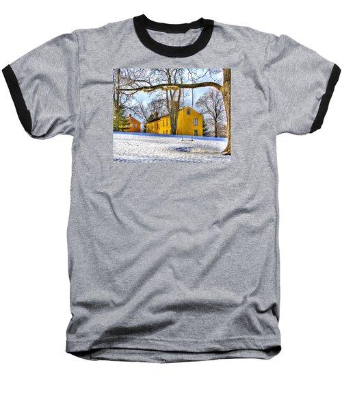 Shaker Swing In Winter 2 Baseball T-Shirt