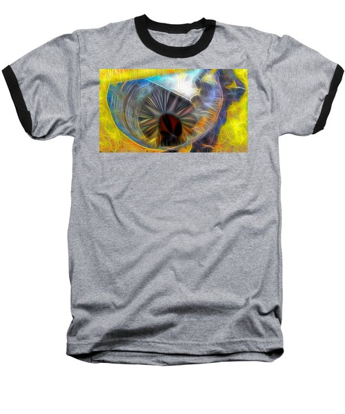 Baseball T-Shirt featuring the digital art Shallow Well by Ron Bissett