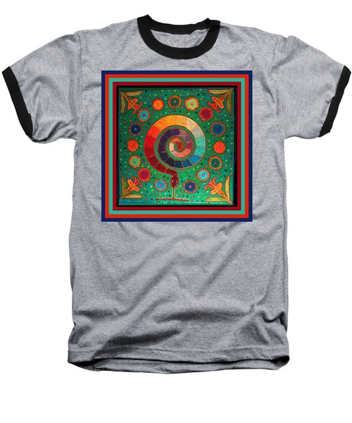 Shaman Serpent Ritual Baseball T-Shirt