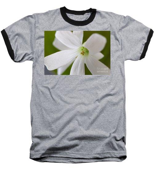 Shamrock Blossom Baseball T-Shirt