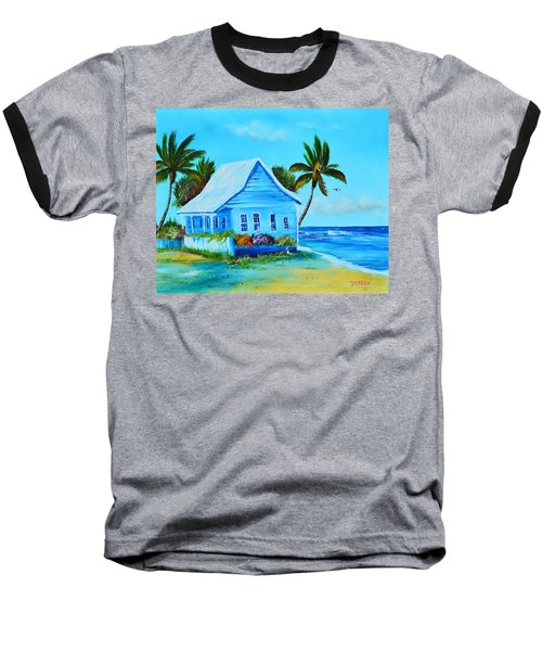 Shanty In Jamaica Baseball T-Shirt