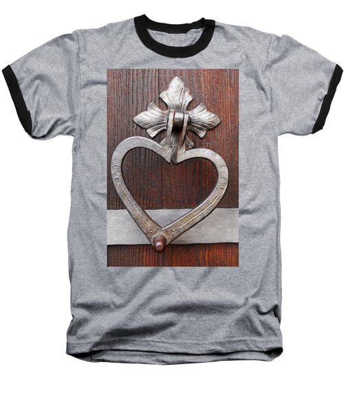Baseball T-Shirt featuring the photograph Shape Of My Heart by Juergen Weiss