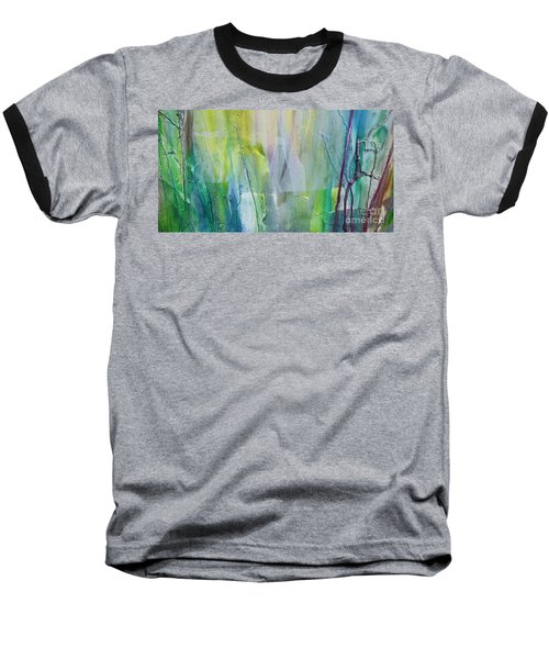 Shapes And Colors Baseball T-Shirt by Dan Whittemore