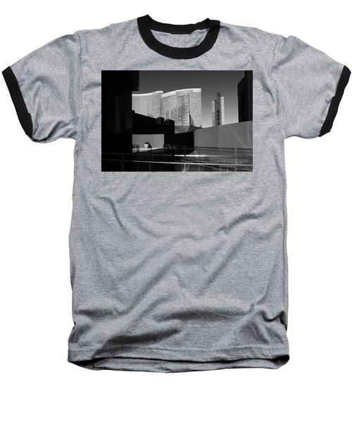 Shapes And Shadows 3720 Baseball T-Shirt by Ricardo J Ruiz de Porras