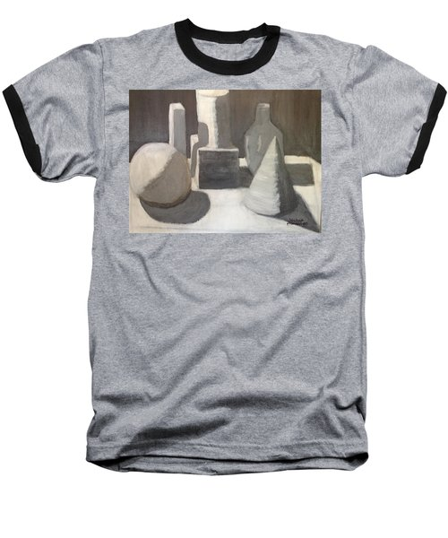 Shapes In Light And Shadow Baseball T-Shirt