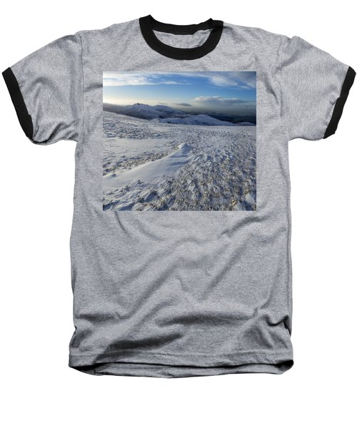 Shapes In The Ice And Far Away Baseball T-Shirt