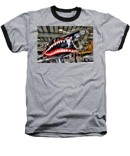 Shark Bite Baseball T-Shirt