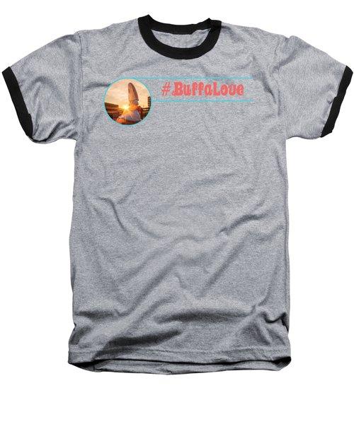 Shark Girl Dawn Baseball T-Shirt