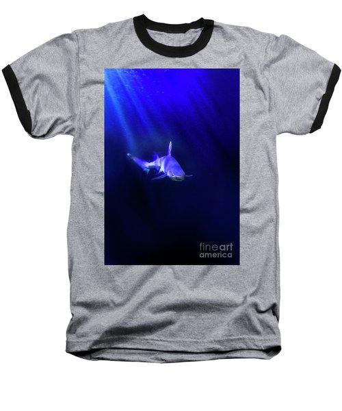 Baseball T-Shirt featuring the photograph Shark by Jill Battaglia