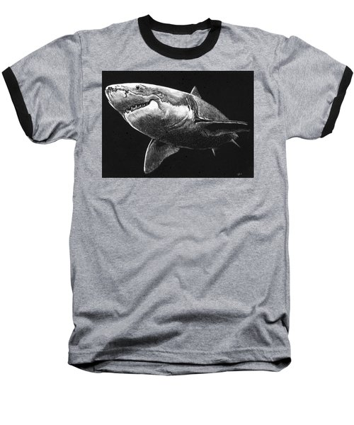 Shark Baseball T-Shirt