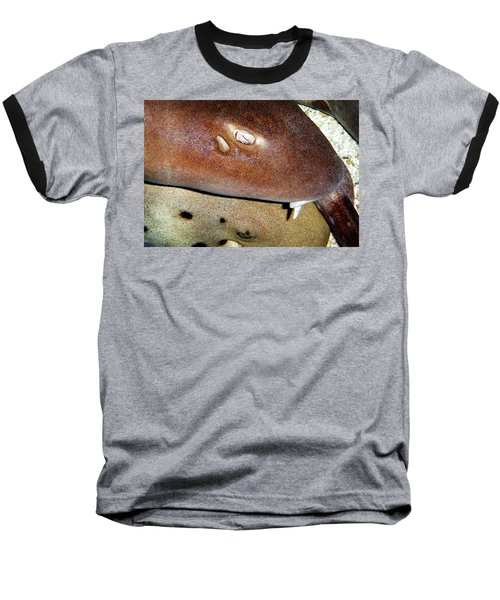 Baseball T-Shirt featuring the photograph Sharks by Anthony Jones