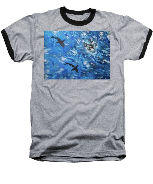Sharks#3 Baseball T-Shirt
