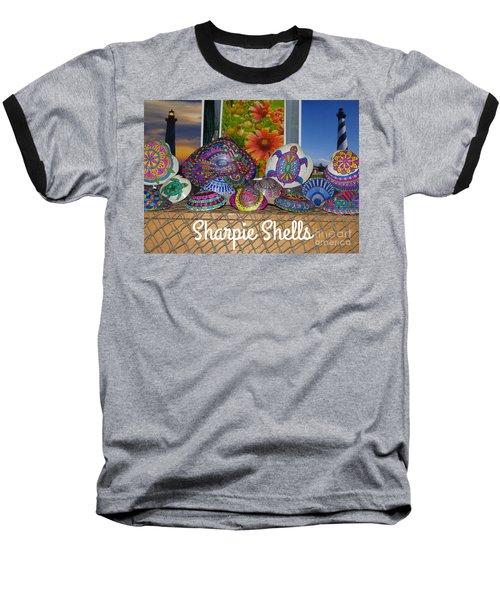 Sharpie Shells Still Life Baseball T-Shirt