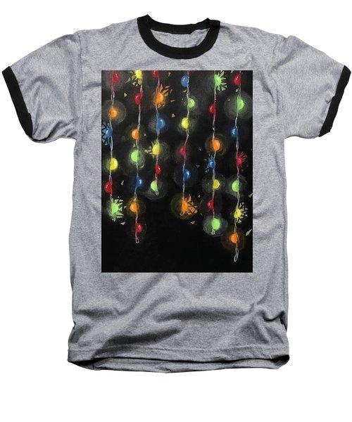 Shattered Lights Baseball T-Shirt