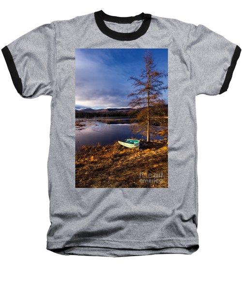 Shaw Pond Sunrise Baseball T-Shirt