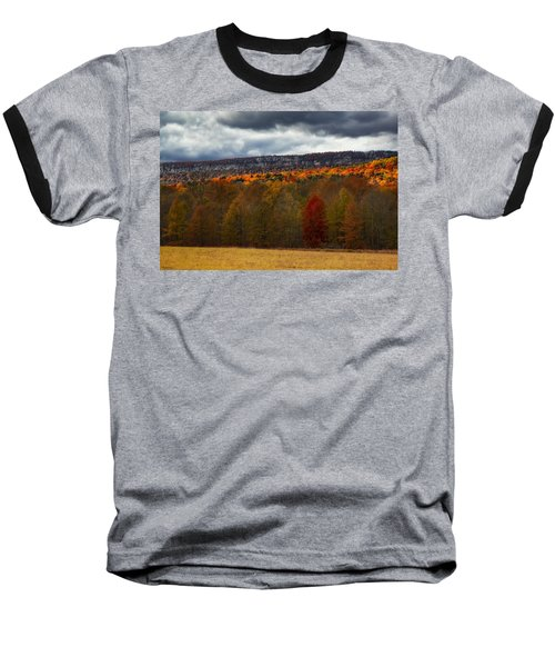 Shawangunk Mountains Hudson Valley Ny Baseball T-Shirt