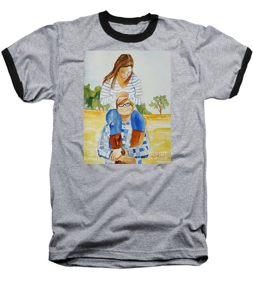 She Said Yes Baseball T-Shirt
