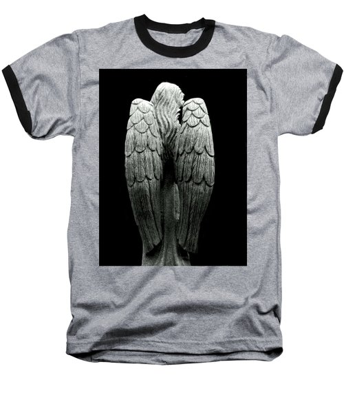 She Talks With Angels Baseball T-Shirt