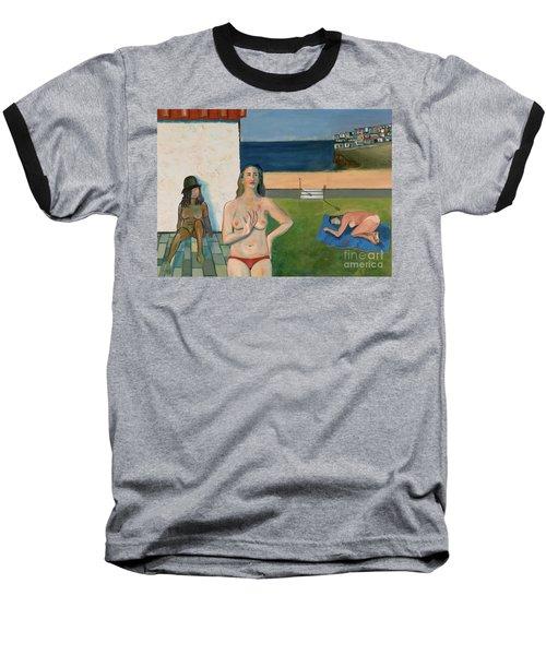 She Walks In Beauty Baseball T-Shirt