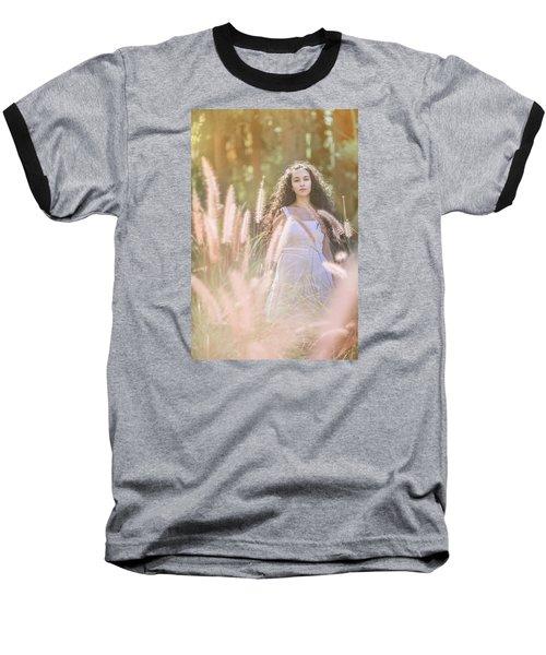 She Who Seeks Shall Find Baseball T-Shirt