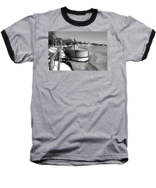 Sheboygan Riverwalk No.1,sheboygan Riverwalk No.5379ssheboygan Riverwalk No.1,sheboygan Riverwalk No Baseball T-Shirt