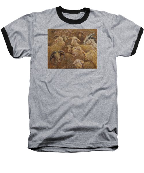 Sheep And Goats Baseball T-Shirt