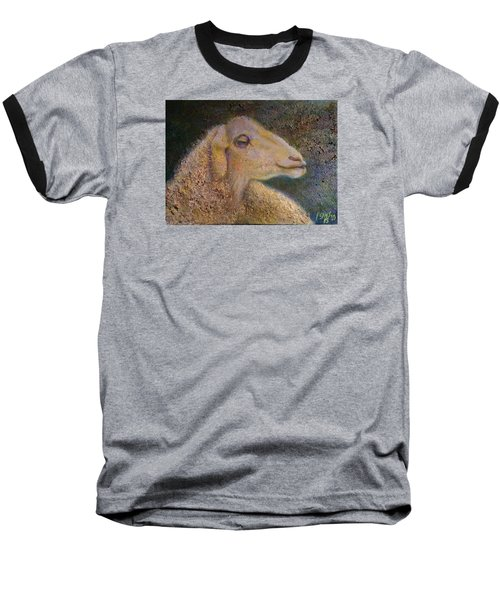Sheep As Baseball T-Shirt