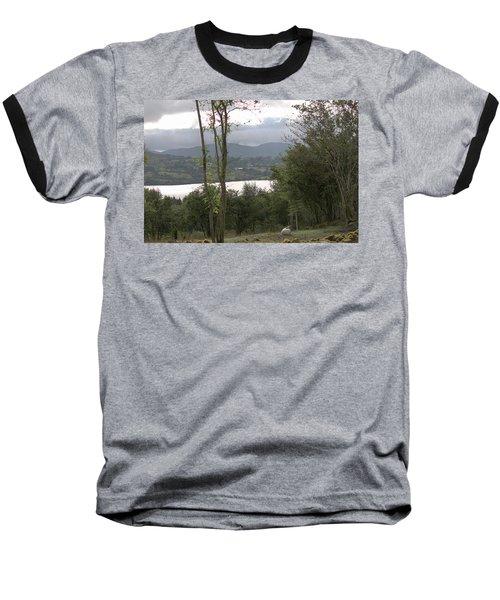Sheep Near Lough Eske Baseball T-Shirt