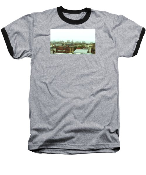 Baseball T-Shirt featuring the photograph Sheffield Skyline by Anne Kotan