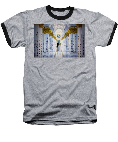 Sheikh Zayed Grand Mosque Baseball T-Shirt
