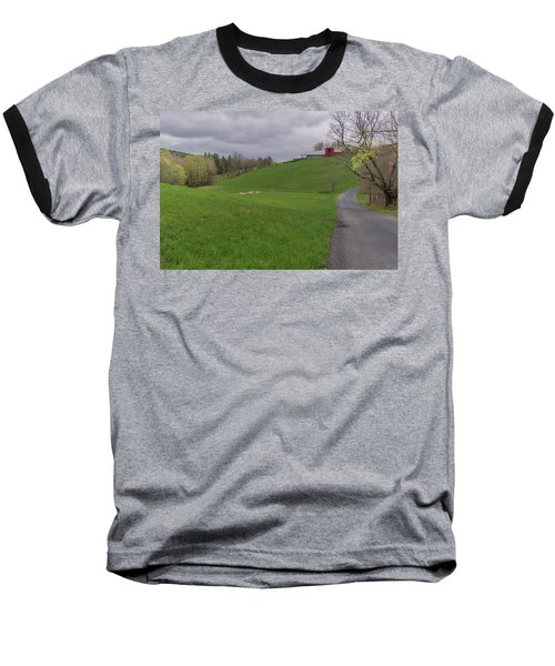 Shelburne Country Road Baseball T-Shirt by Tom Singleton