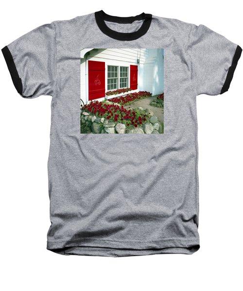 Shelby Flowers Baseball T-Shirt
