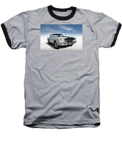 Baseball T-Shirt featuring the digital art Shelby Mustang Gt350 by Douglas Pittman