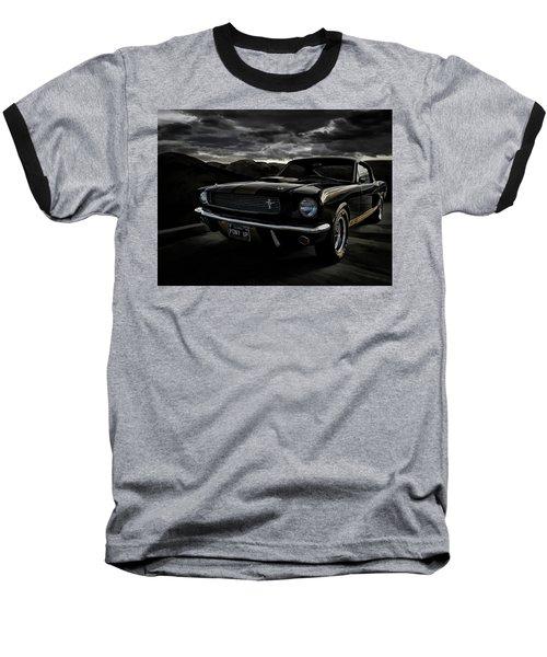 Shelby Gt350h Rent-a-racer Baseball T-Shirt by Douglas Pittman