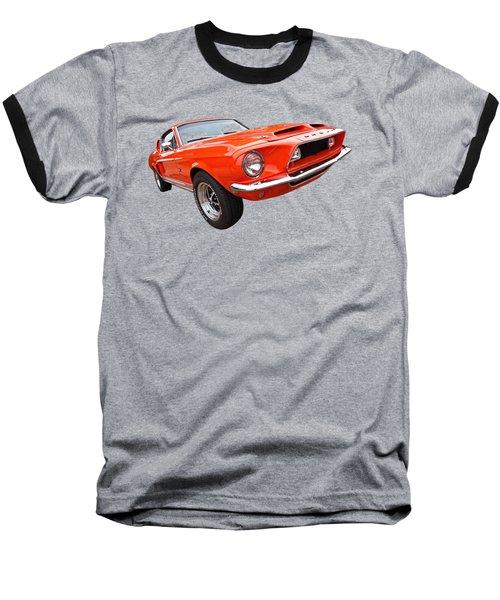 Shelby Gt500kr 1968 Baseball T-Shirt by Gill Billington