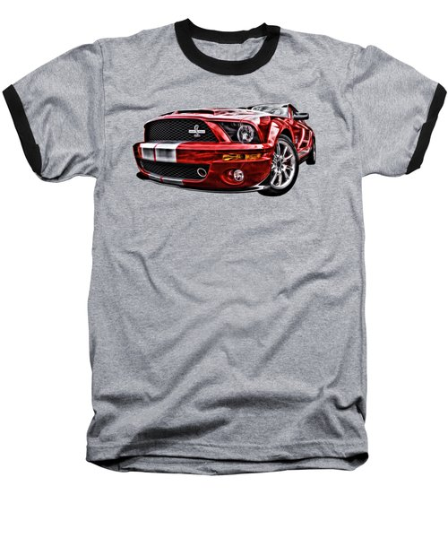 Shelby On Fire Baseball T-Shirt