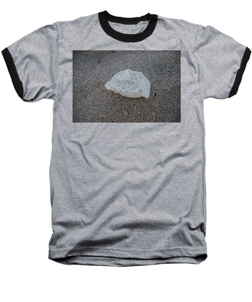 Baseball T-Shirt featuring the photograph Shell And Sand by Rob Hans