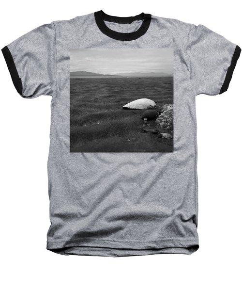 Shell And Sand Baseball T-Shirt