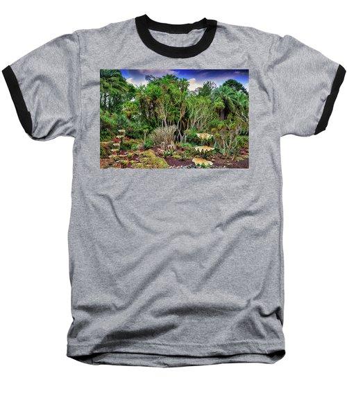 Shell Garden Baseball T-Shirt by Joseph Hollingsworth
