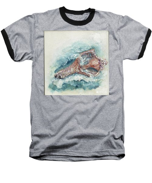 Shell Gift From The Sea Baseball T-Shirt by Doris Blessington