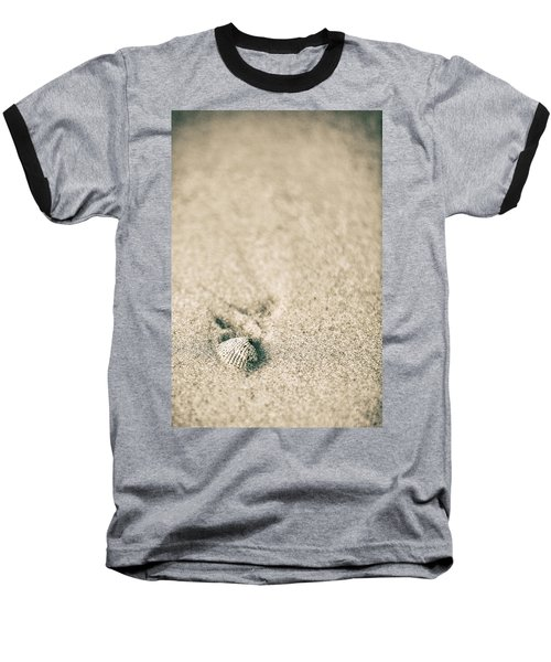 Baseball T-Shirt featuring the photograph Shell On Beach Alabama  by John McGraw