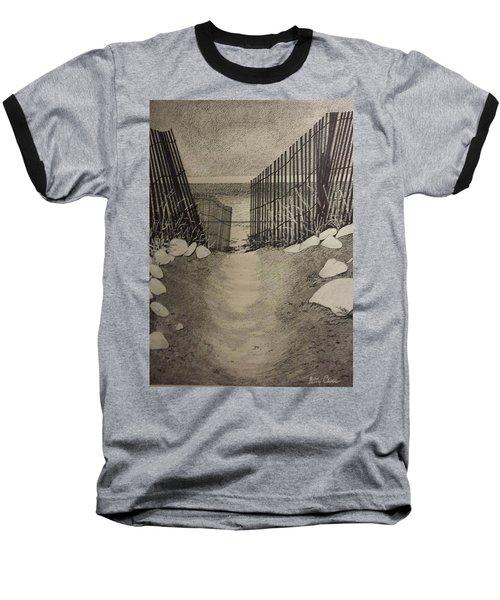 Shell Path Baseball T-Shirt